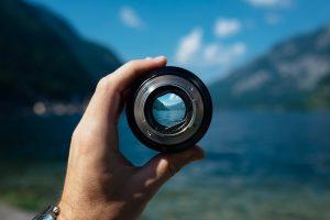 レンズと風景